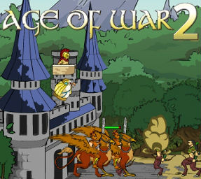 Age of war 2 is a combination of defense and strategy game main goal